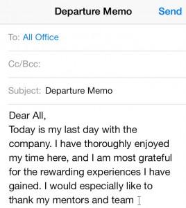 career-departure